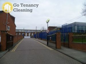 Leading end of lease sanitation team N11, N14 - Arnos Grove
