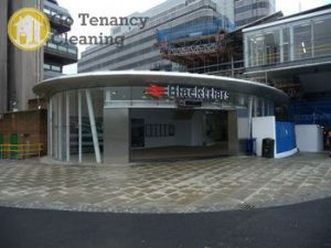 Trusted end of tenancy sanitation company EC4 - Blackfriars