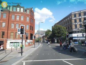 Pedestrian crossing in Cheam