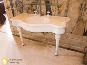 Antique porcelain sink