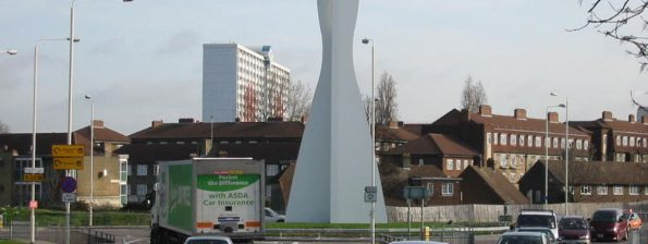 Example of public art in Barking