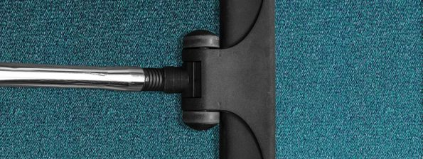 Vacuum-cleaning a carpet